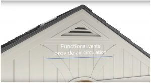 Air Vents Built-In Provide A Fresh Environment