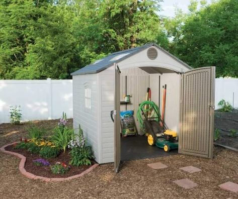 Lifetime 8 x 7.5 ft Resin Shed