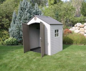 Lifetime 8x5 ft Resin Shed