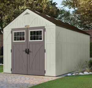 Large Plastic Storage Sheds