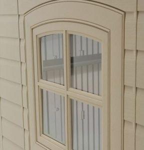 Window Opens Halfway