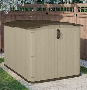 Low Height Shed Suncast Glidetop Shed Quality Plastic