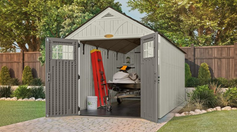 Suncast Tremont 8 x 16 ft Large Shed