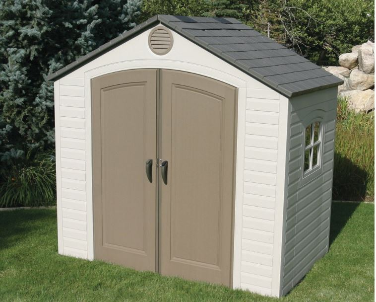 The Popular Lifetime 8 x 5 ft Shed