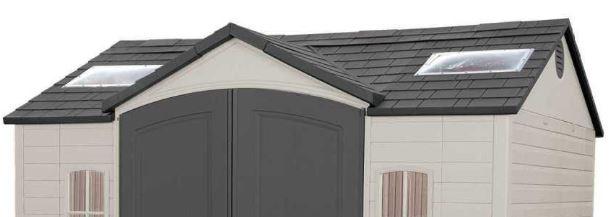 Lifetime Polyethylene Resin Roof