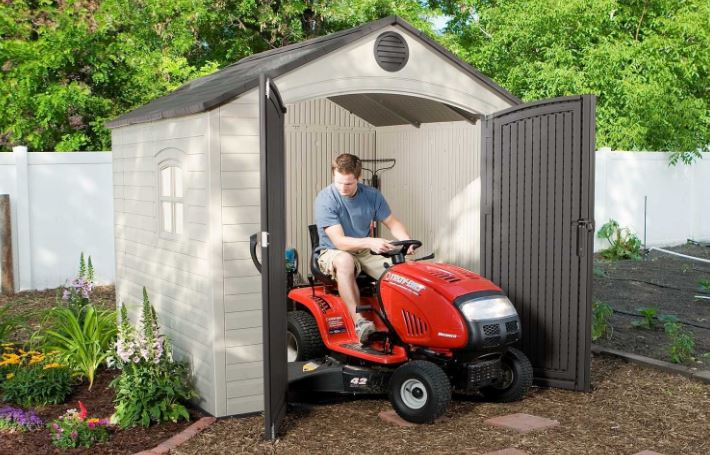 8x8 Resin Storage Shed