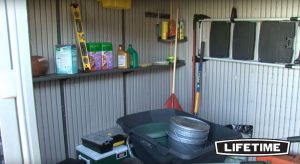 Inside The Lifetime 8 x 10 ft Shed