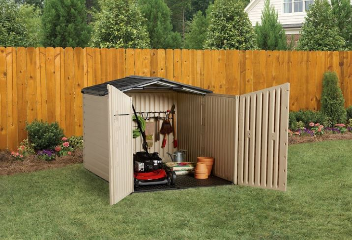 Rubbermaid 6 x 4ft Horizontal Shed