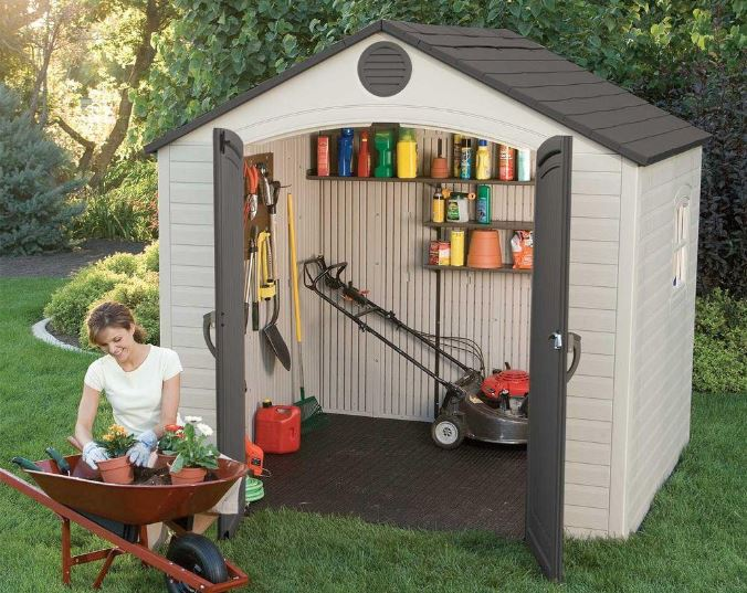 8 x 5 ft Lifetime Shed