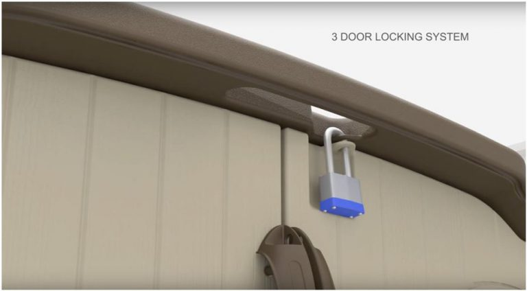 3 Door Locking System