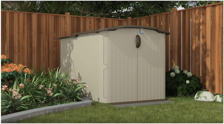 Low Height Shed: Suncast BMS4900
