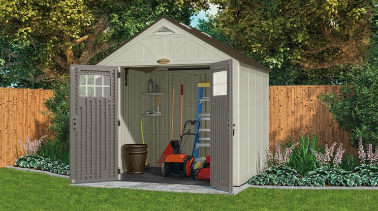 Suncast's Spacious Tremont 8 x 10 ft Shed
