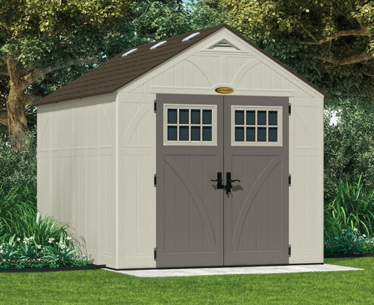 Tremont 8 x 10 Plastic Shed