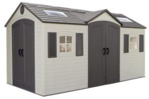 Lifetime 15 x 8 ft Dual Entry Shed