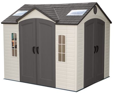 Lifetime 10 x 8 ft Easy Access Shed