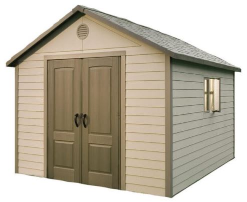Lifetime 11 x 13.5 ft Plastic Shed