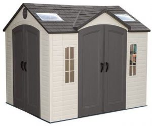Lifetime 10 x 8 ft Dual Entry Shed