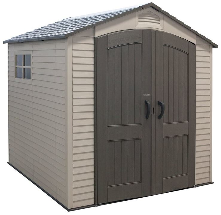 7 x 7 Resin Storage Sheds - Lifetime 7 x 7 ft Shed
