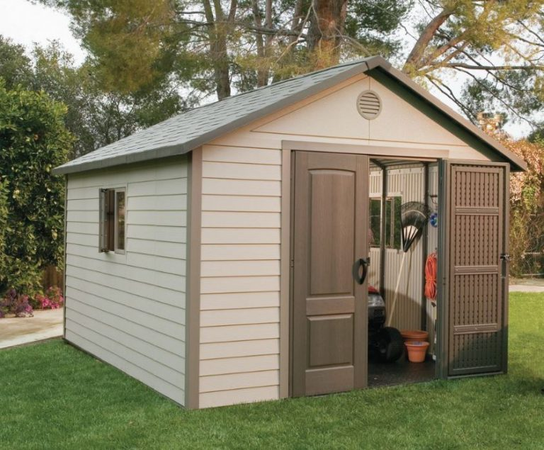 Heavy Plastic Sheds - Lifetime 11 x 13.5 ft