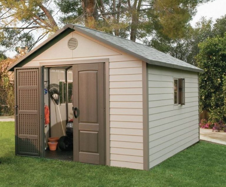 Lifetime 11 x 13.5 ft Storage Shed