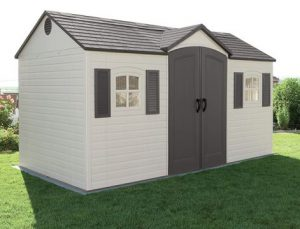Lifetime 15 x 8 ft Storage Shed