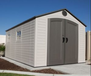 Lifetime 8 x 15 ft Storage Shed