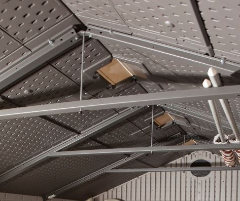 5 A-Frame Steel Trusses Deliver Reinforced Roof Support