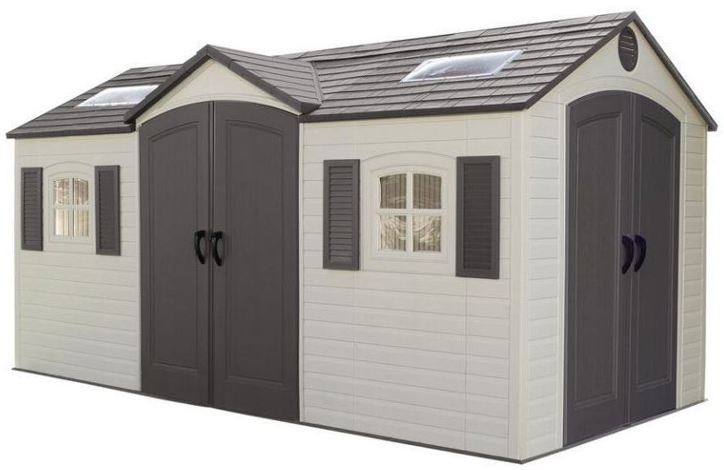 Lifetime Dual Entry 15 x 8 ft Shed