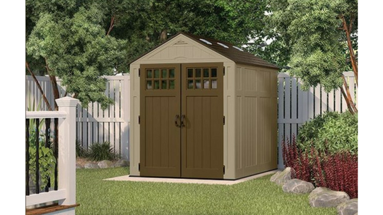 6×8 Plastic Sheds – Easy To Clean