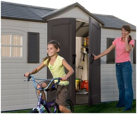 15 x 8 ft Lifetime Shed