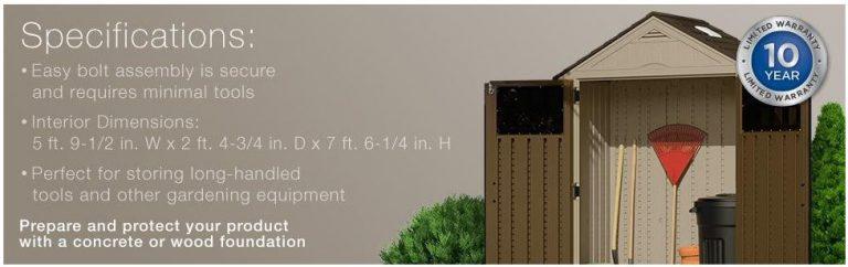 Everett 6 x 3 ft Measurements