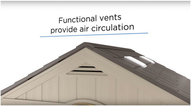 Air Vents produce a fresh internal environment