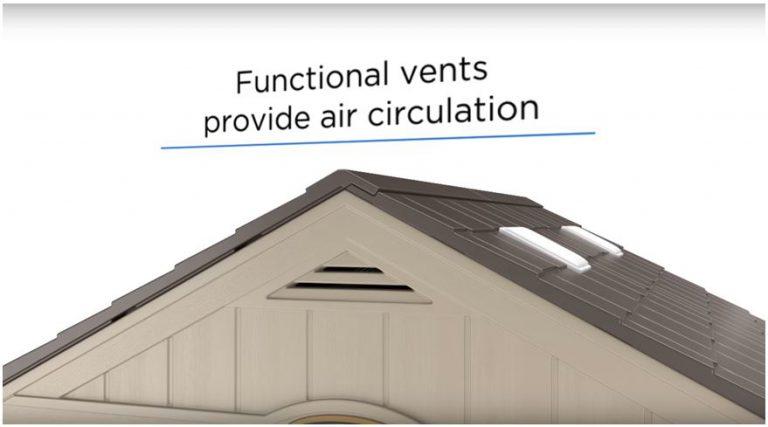 Air Vents produce a fresh internal environment