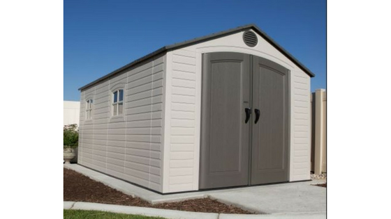 Resin Storage Sheds - Weather Resistant
