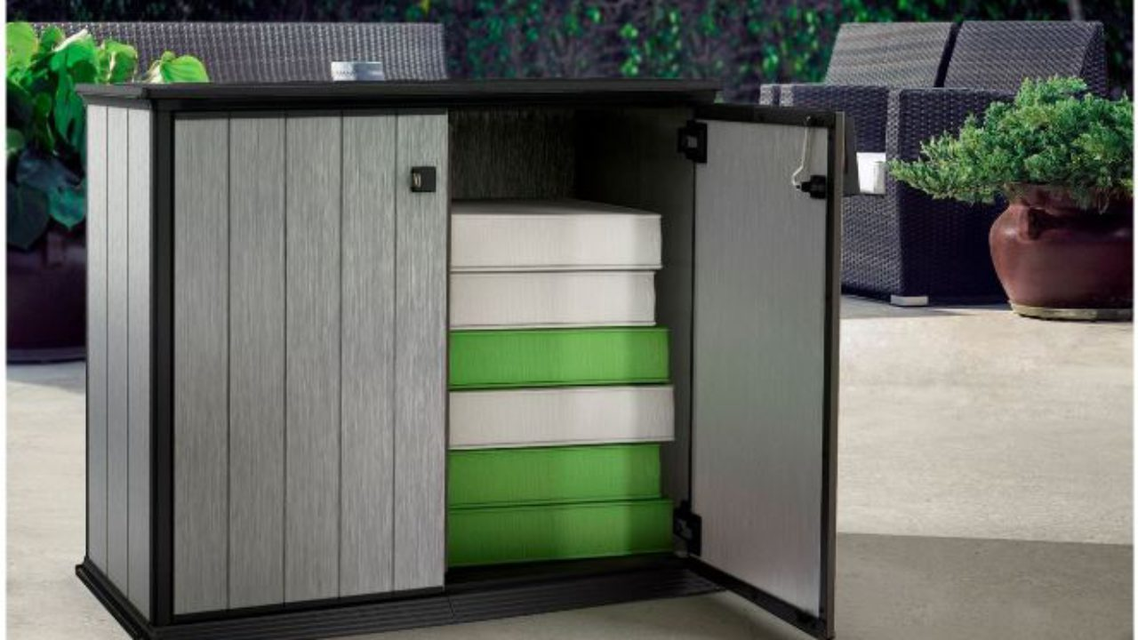 Quality Patio Storage Cabinets Quality Plastic Sheds