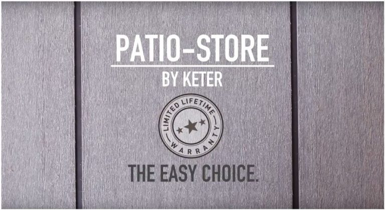 Keter Patio-Store Warranty
