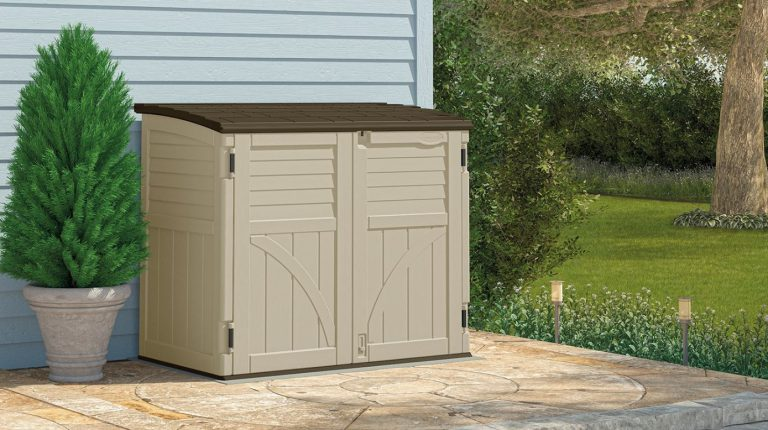 Horizontal Plastic Storage Sheds by Suncast