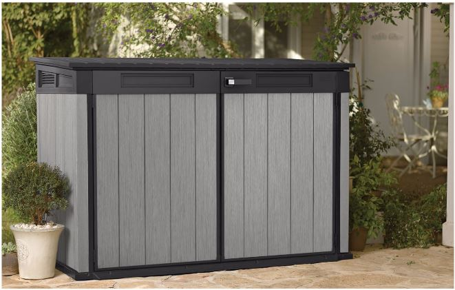 Triple Wheelie Bin Storage Quality Plastic Sheds