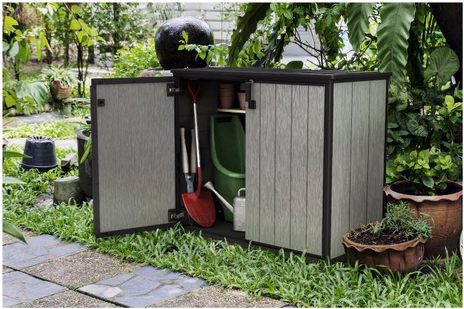 Keter Patio-Store: Storing Small Gardening Equipment
