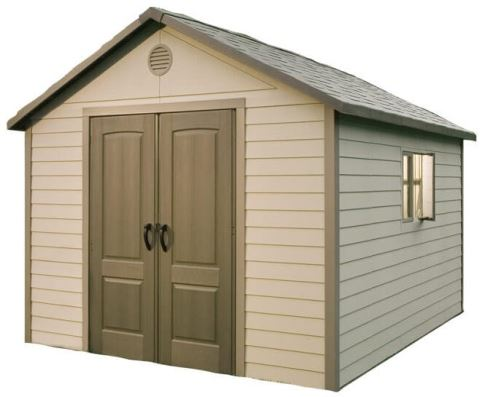 Low Maintenance 11 x 11 ft Lifetime Shed