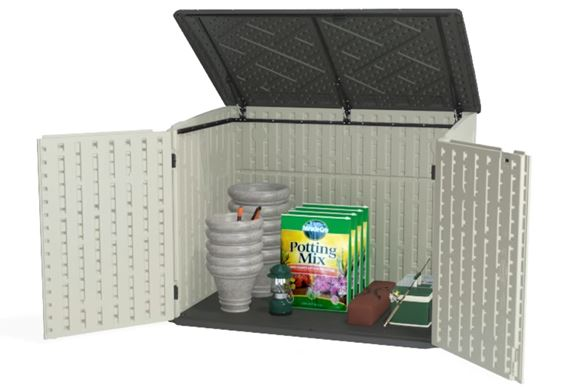 A Storage Solution for Gardening Equipment