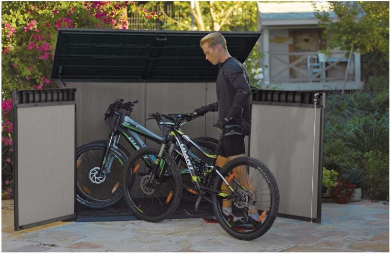 Easy Access Bike Storage