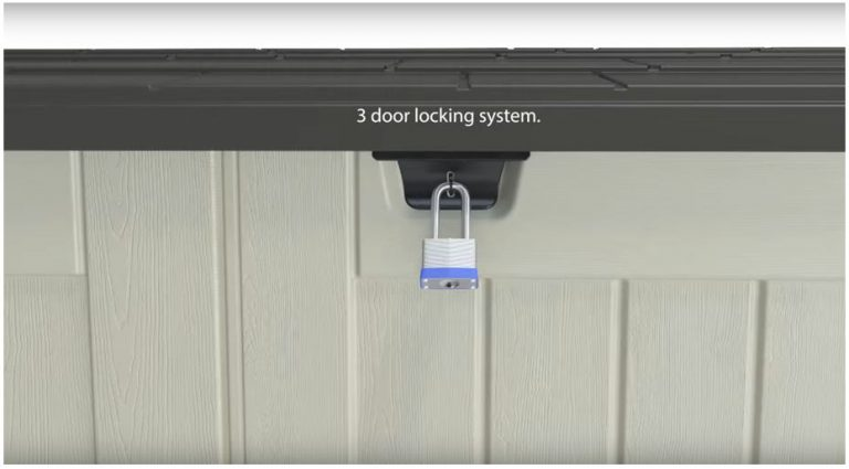 3 Way Locking System