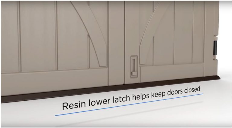 Resin Foot Latch Operates The Opening