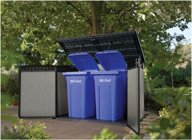 Grand-Store Extra Large Wheelie Bin Accommodation