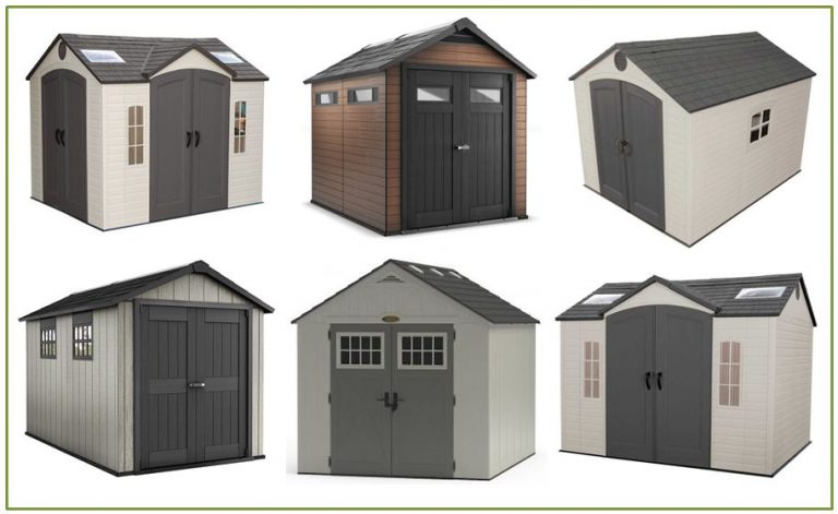 Lovely 8 X 10 Resin Storage Shed