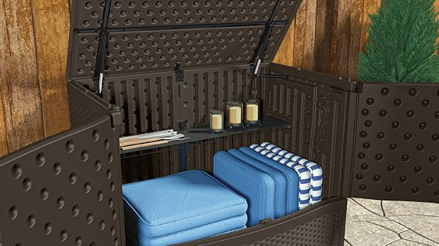 Small Outdoor Storage Ideas Quality Plastic Sheds