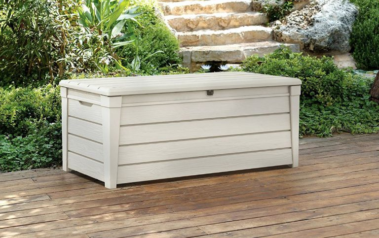 Brightwood Deck Box - White Shade