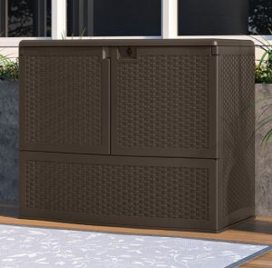 Suncast Vertical Deck Box
