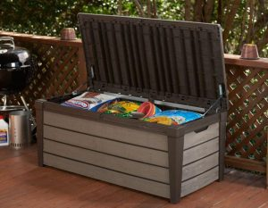 Brushwood Storage Box Occupying Lawn Supplies